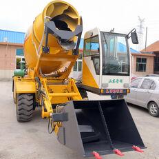 novi LUZUN selfloading concrete mixer bager točkaš