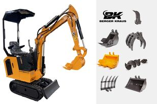 novi BERGER KRAUS Mini Excavator BK800B with FULL equipment mini bager