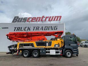 Putzmeister BSF na šasiji MAN TGS 26.400 6x4 Putzmeister 38-5 m / Top Pump / German Truck pumpa za beton