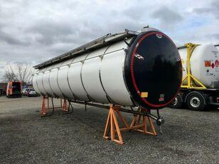 NUR TANKAUFBAU 32.000 ltr 12500+6.000+13500 spremnik-kontejner 10 stopa